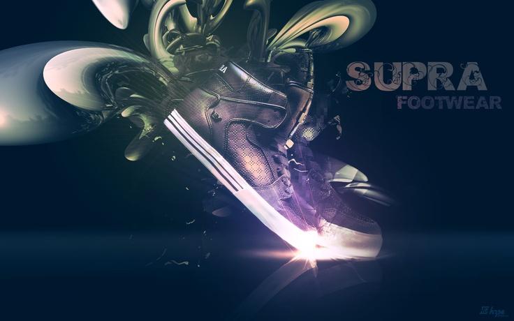 Bボーイ系最強ブランド!「スープラ-SUPRA」のハイカットスニーカーで足元を大迫力に演出