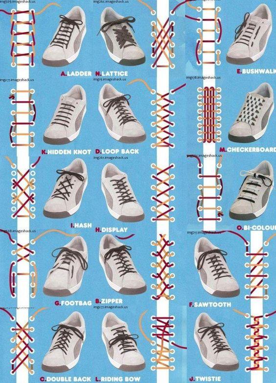 【動画】スニーカーの靴紐の正しい結び方の解説動画を世界中から集めてみました!